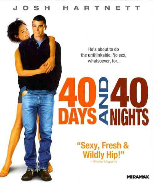 40 DAYS AND 40 NIGHTS BY HARTNETT,JOSH (Blu-Ray)